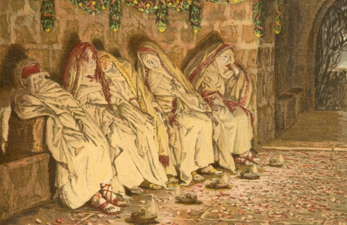 Image result for parable of the wise and foolish virgins