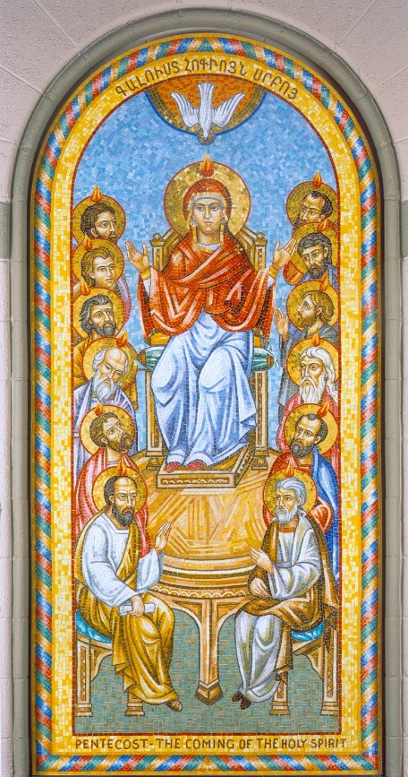 The Feast of Pentecost| Hokehkalousd; two names, but the same Feast for the Armenian Orthodox Church