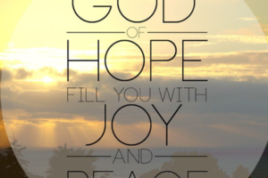 lesson on hope for leaders